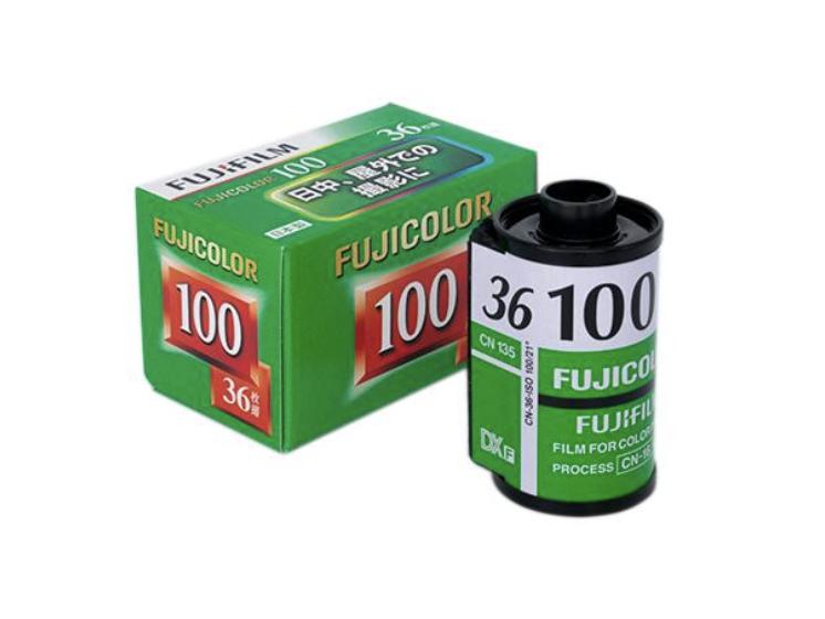 FUJICOLOR 100 フィルム